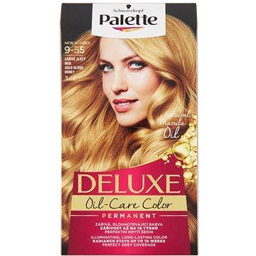 Barva na vlasy SCHWARZKOPF PALETTE Deluxe 345 Zářivě zlatý med 50 ml (3838824176710)