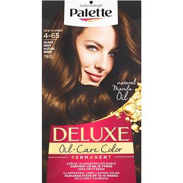 Barva na vlasy SCHWARZKOPF PALETTE Deluxe 760 Oslnivě hnědý 50 ml (3838824256603)