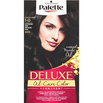 Barva na vlasy SCHWARZKOPF PALETTE Deluxe 900 Sytý přirozeně černý 50 ml (9000100966665)