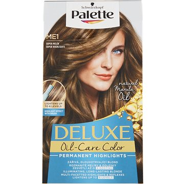 Barva na vlasy SCHWARZKOPF PALETTE Deluxe Blond ME1 Super melír 50 ml (3838824235578)