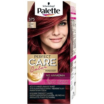 Barva na vlasy SCHWARZKOPF PALETTE Perfect Care Color 575 Sytě červený 50 ml (9000100921749)