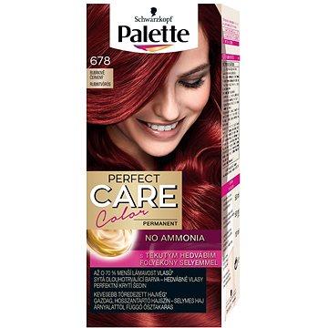 Barva na vlasy SCHWARZKOPF PALETTE Perfect Care Color 678 Rubínově červený 50 ml (9000100921473)