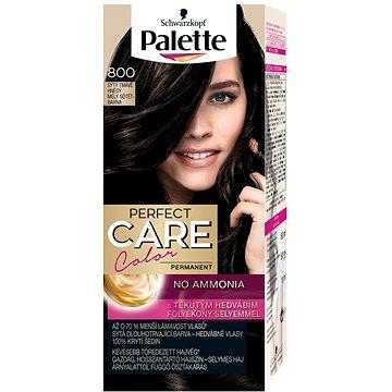 Barva na vlasy SCHWARZKOPF PALETTE Perfect Care Color 800 Sytý tmavě hnědý 50 ml (9000100920810)
