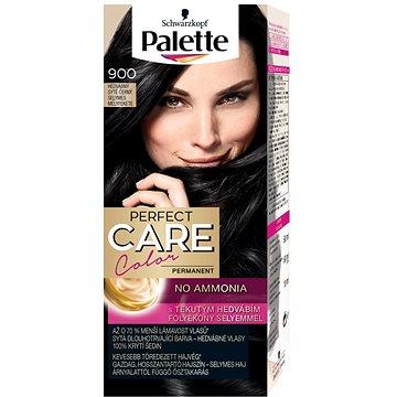 Barva na vlasy SCHWARZKOPF PALETTE Perfect Care Color 900 Hedvábný sytě černý 50 ml (9000100920445)