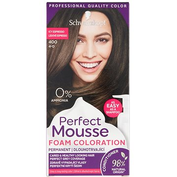 SCHWARZKOPF PERFECT MOUSE 400 - Ledové Espresso 35 ml (3838824222943)