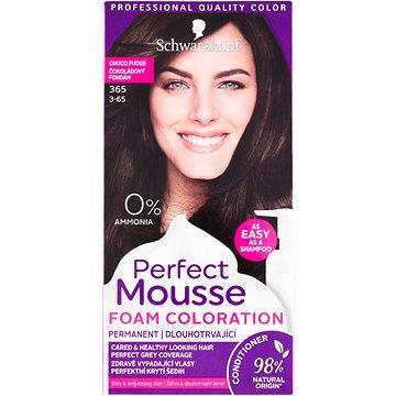 Barva na vlasy SCHWARZKOPF PERFECT MOUSE 365 - Čokoládový fondán 35 ml (9000100955874)