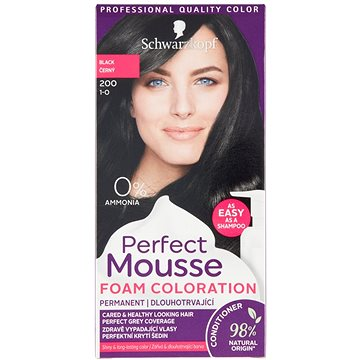 SCHWARZKOPF PERFECT MOUSE 200 - Černý 35 ml (3838824223001)