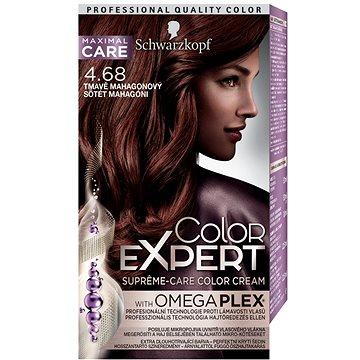 Barva na vlasy SCHWARZKOPF COLOR EXPERT 4-68 Tmavě mahagonový 50 ml (9000101060676)
