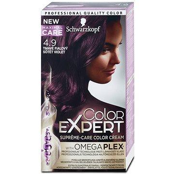Barva na vlasy SCHWARZKOPF COLOR EXPERT 4-9 Tmavě fialový 50 ml (9000101060379)