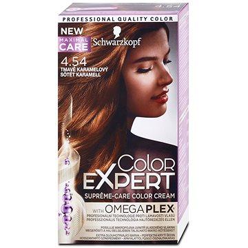 Barva na vlasy SCHWARZKOPF COLOR EXPERT 4-54 Tmavě karamelový 50 ml (9000101060195)