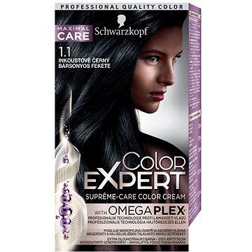 Barva na vlasy SCHWARZKOPF COLOR EXPERT 1-1 Inkoustově černý 50 ml (9000101060102)