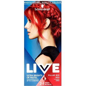 Barva na vlasy SCHWARZKOPF LIVE Color XXL 92 Pillar Box Red 50 ml (8585000364304)