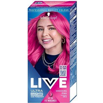 Barva na vlasy SCHWARZKOPF LIVE Color XXL 93 Shocking Pink 50 ml (8585000364229)