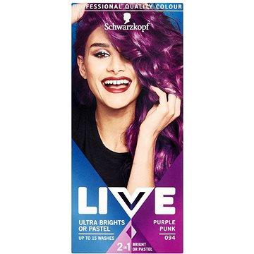 Barva na vlasy SCHWARZKOPF LIVE Color XXL 94 Purple Punk 50 ml (9000101069181)