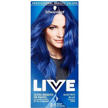 Barva na vlasy SCHWARZKOPF LIVE Color XXL 95 Electric Blue 50 ml (8585000364267)