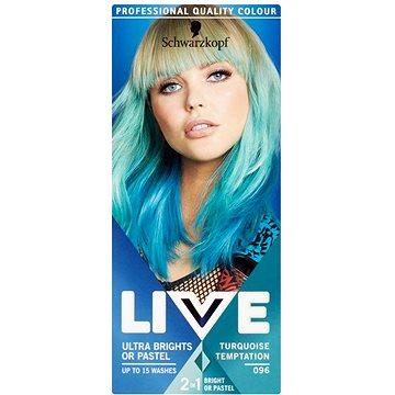 Barva na vlasy SCHWARZKOPF LIVE Color XXL 96 Turquoise Temptation 50 ml (8585000364281)