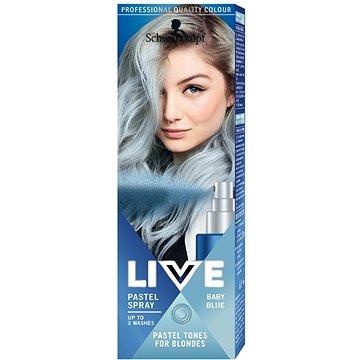 Barva na vlasy SCHWARZKOPF LIVE Pastel Spray Baby Blue 125 ml (9000101046403)
