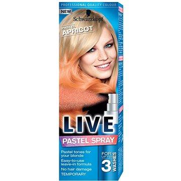 Barva na vlasy SCHWARZKOPF LIVE Pastel Spray Pastel Apricot 125 ml (9000101038835)