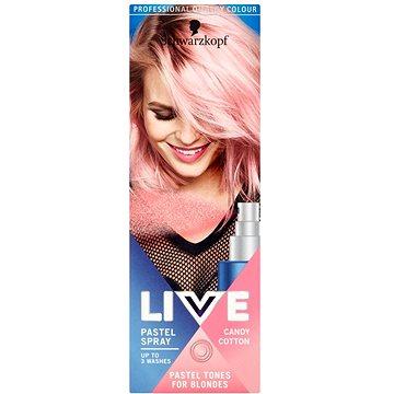 Barva na vlasy SCHWARZKOPF LIVE Pastel Spray Candy Cotton 125 ml (9000101038781)
