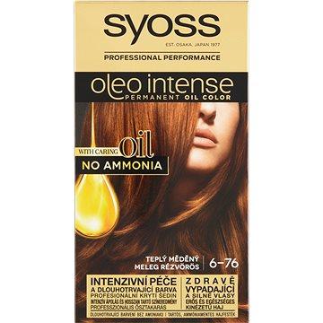 SYOSS Oleo Intense 6-76 Teplý měděný 50 ml (9000100814553)