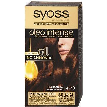 Barva na vlasy SYOSS Oleo Intense 4-18 Hnědá moka 50 ml (9000100815000)