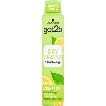 Suchý šampon SCHWARZKOPF GOT2B Fresh it up Extra Fresh 200 ml (9000101043211)