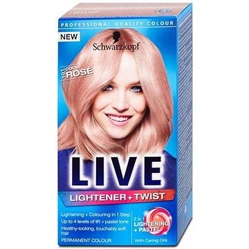 Barva na vlasy SCHWARZKOPF LIVE Lightener & Twist 101 Cool Rose 50 ml (5012583204985)