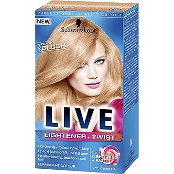 Barva na vlasy SCHWARZKOPF LIVE Lightener & Twist 103 Peach Blush 50 ml (5012583205029)
