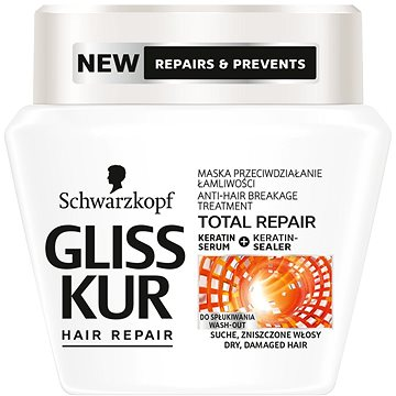 Maska na vlasy SCHWARZKOPF GLISS KUR Total Repair 300 ml (9000101050851)