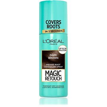 Sprej na odrosty ĽORÉAL PARIS Magic Retouch 2 Dark Brown 75 ml (3600523192892)