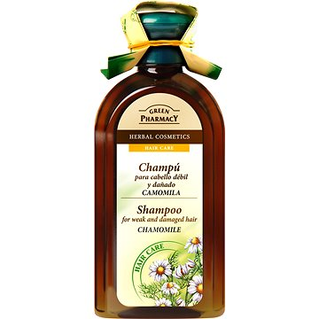 GREEN PHARMACY Shampoo For Weak And Damaged Hair Chamomile 350 ml (5904567050278)