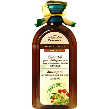 GREEN PHARMACY Shampoo For Oily Scalp and Dry Ends Ginseng 350 ml (5904567050285)