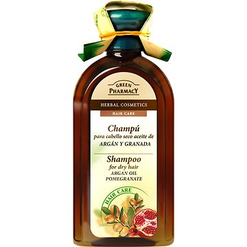 GREEN PHARMACY Shampoo For Dry Hair Argan Oil Pomegranate 350 ml (5904567051565)