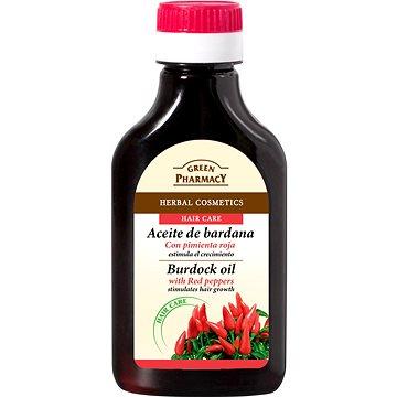 GREEN PHARMACY Lopuchový olej s chilli papričkami pro růst vlasů 100 ml (5904567050360)
