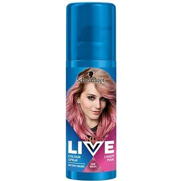 SCHWARZKOPF LIVE Colour Sprays Candy Pink 120 ml (9000101079753)