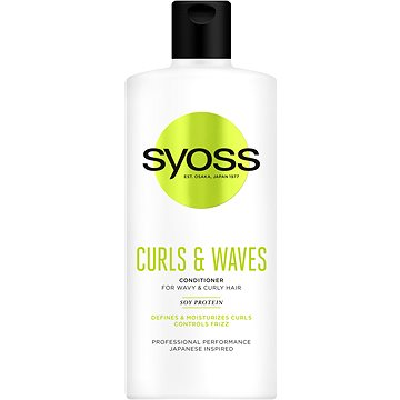 Balzám na vlasy SYOSS Curls & Waves Conditioner 500 ml (9000101206760)