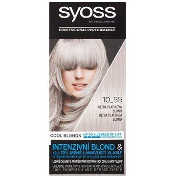 SYOSS Blond Cool Blonds 10-55 Ultra platinová blond 50 ml (9000101210453)