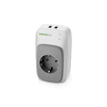 Vocolinc Smart adapter, 2x USB port+ night light (713440638435)