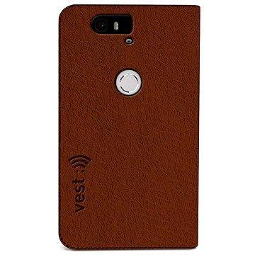 Vest Anti-Radiation pro Huawei Nexus 6P hnědé (vst115084)