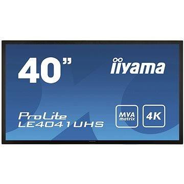 40 iiyama ProLite LE4041UHS černý (LE4041UHS-B1) + ZDARMA Film k online zhlédnutí Lovci hlav