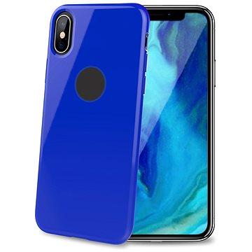 CELLY Gelskin pro Apple iPhone XS Max modrý (GELSKIN999BL)