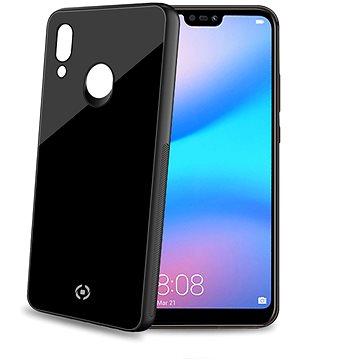 CELLY Diamond z tvrzeného skla a TPU pro Huawei P20 Lite černý (DIAMOND744BK)