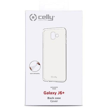 CELLY Gelskin pro Samsung Galaxy J6+ bezbarvý (GELSKIN789)