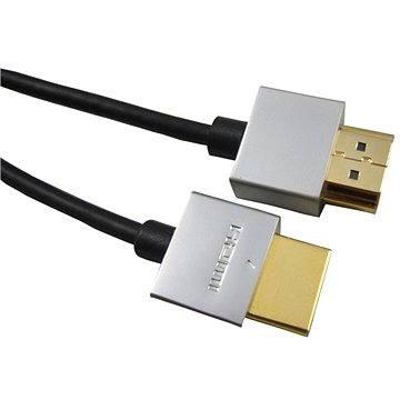 PremiumCord Slim HDMI propojovací 0.5m (8592220011819)