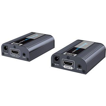 PremiumCord HDMI2.0 extender na 60m přes jeden kabel Cat6/6a/7 (khext60-3)