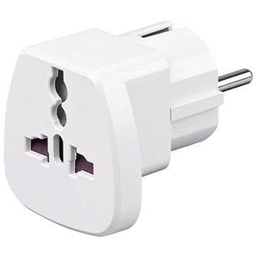 Goobay UK->EU Power Adapter bílý (4040849940262)