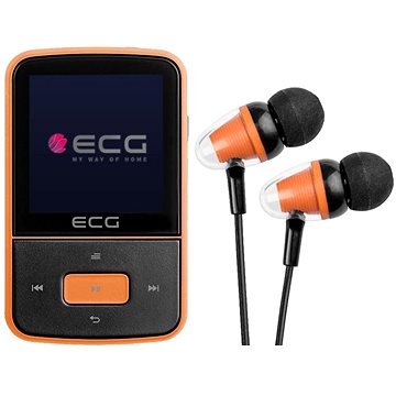 ECG PMP 30 8 GB Black&Orange (8592131176089)