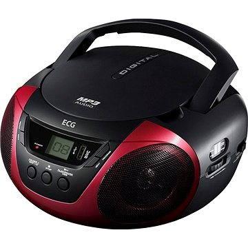 ECG CDR 699 USB MP3 červené (CDR699USBMP3 red)