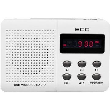 ECG R 155 U bílé (8592131175792)