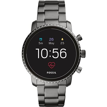 Fossil Explorist HR Smoke Stainless Steel (FTW4012)